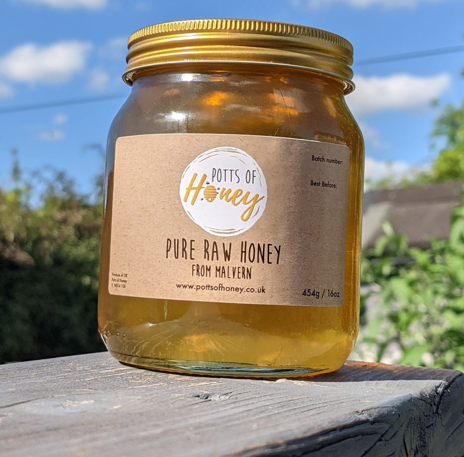 POH – Raw Honey Malvern Large